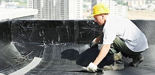 waterproofing flat roof